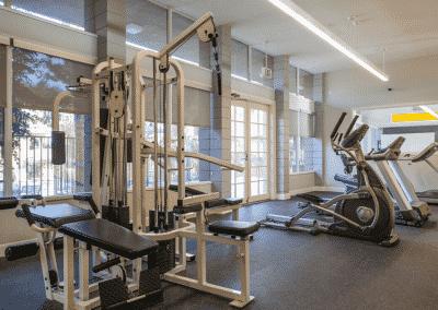 Fitness area in Summerwood