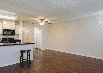 Unit with kitchen