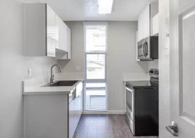 Summerwood apartments kitchen