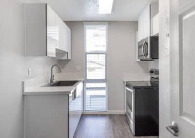 Summerwood Apartments galley kitchen