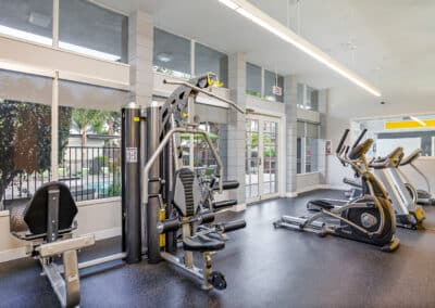 Summerwood apartments fitness area
