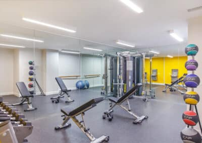 Summerwood apartments fitness facility