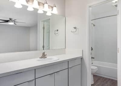 Summerwood apartments modern bathroom interior